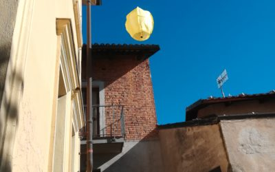 A LANTERN FLYING OVER THE SKY OF MONTÀ!