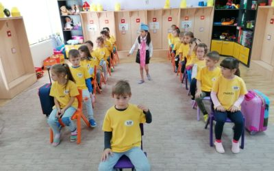 """Role-playing game """"By plane travel"""" in the classroom"""