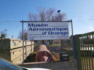Visit of the aeronautic museum of Orange
