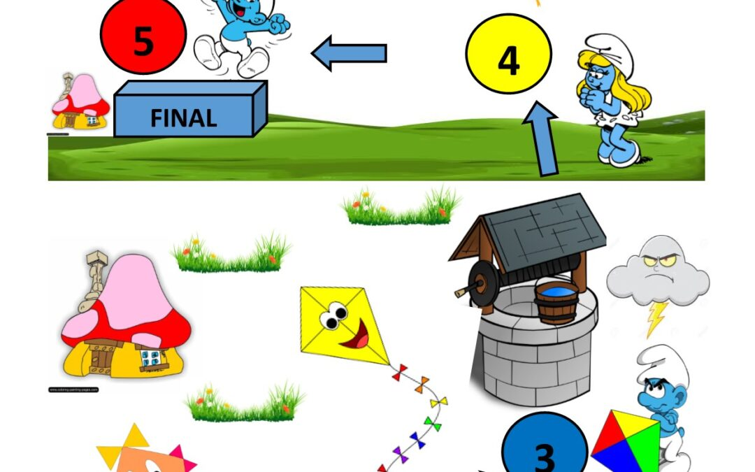 Game Dice – Smart smurf and flying kites