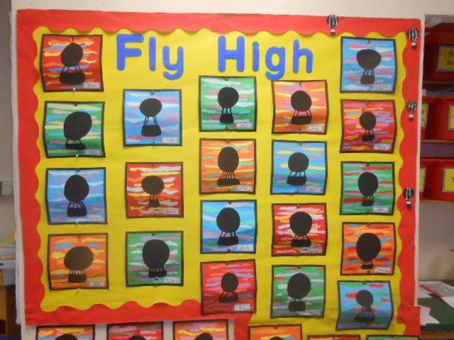Fly High – Hot Air Balloon Silhouettes