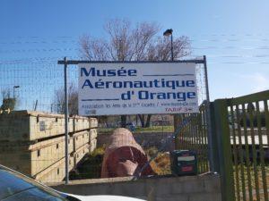 Visit of the aeronautic museum of Orange